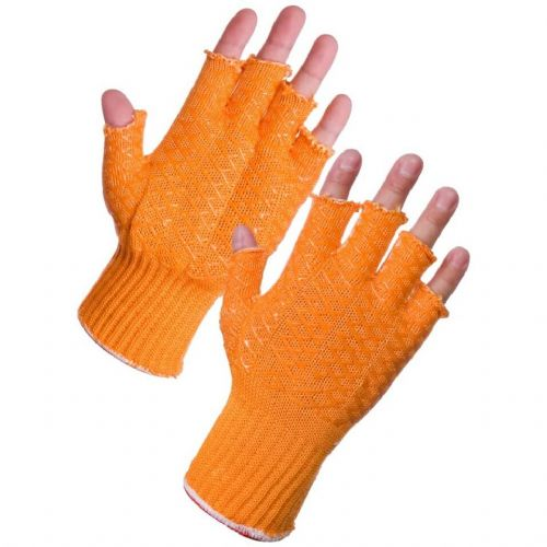 Supertouch Fingerless Criss Cross Grip Gloves  - 120 Pairs